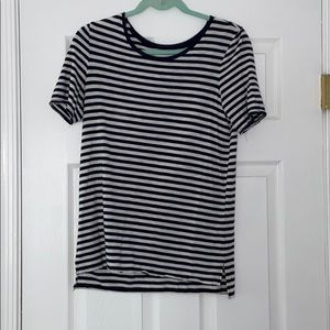 Aerie short sleeve striped shirt
